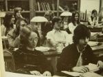 Lynn Calder and John Coffman such studious classmates!  1976 - 1977