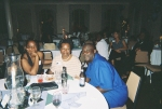 Cheryl Forbes Champaign, Sheila Hardy Fleming and Tony Worthington