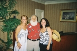 Santa in June?  Looks as if Santa is finding out whether Susan Dickerson Phillips and Ann Marie Raper Rogers have been n