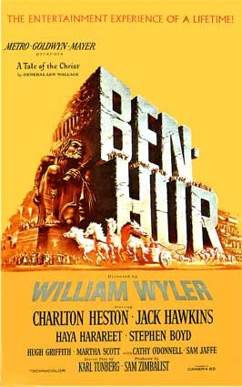 Ben Hur won a record eleven Academy Awards, including Best Picture, a feat equaled only by Titanic (1997) and The Lord o