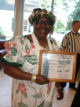 Aloha Shirley!  Shirley Johnson (Davenport) traveled all the way from Hawaii to celebrate our 50th with the rest of the