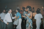 Mary Ann Bennett and others dancing at the American Legion.