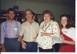 Ken Gladson, James Shoe, Linda Lambert & Carolyn Smith