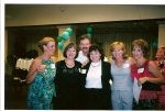 Girls just want to have fun -- and Ricky too!  (Susan, Anna Marie, Kathy, Diane and Rushell)